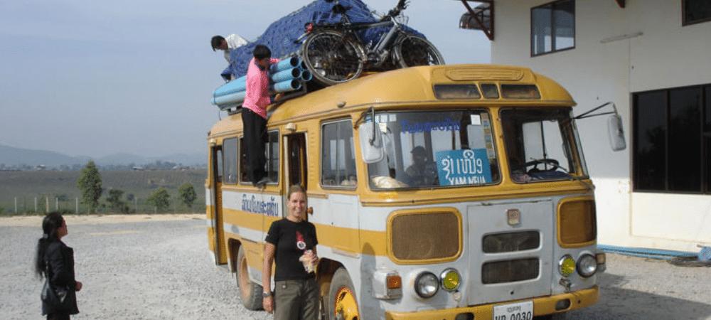 fietsreis door Azie Laos