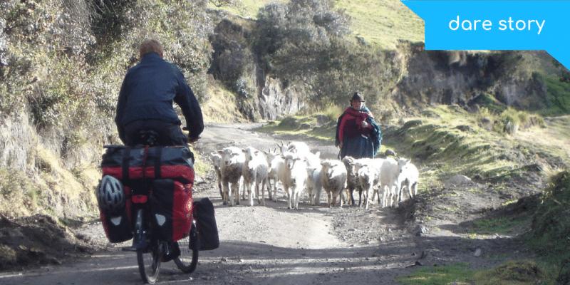 wereldreis op de fiets. 15.000 km fietsen door Zuid-Amerika en Azie