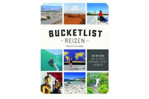 Boek met 25 bucketlist reizen